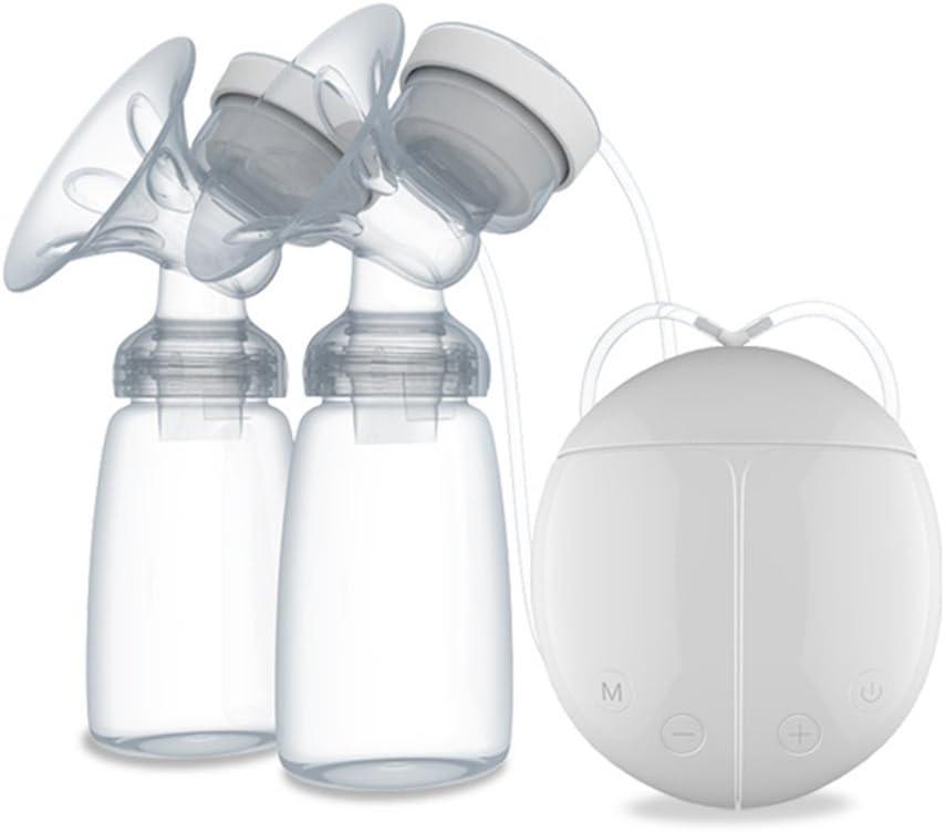 Vektenxi Elektrische Milchpumpe Verstellbare Saugleistung Leise Milchpumpe Doppelpumpen Elektrische Stillpumpe f/ür Weithalsflaschen und Standardflaschen Neu Freigegeben