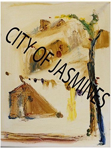 City of Jasmines Out To Dry - Hand Made Oil Painting (Dry Oil Jasmine)