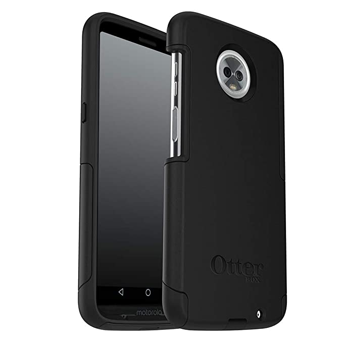 new arrival dee45 3b51d OtterBox Commuter Series Case for Moto Z3 Play - Retail Packaging - Black