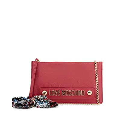 c5ccbcebc7 Amazon.com: Love Moschino Women Red Clutch bags: Shoes