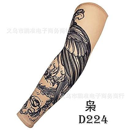 CXQ Manga de tatuaje Al aire libre Protección solar Brazalete ...