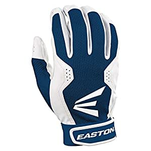 Easton Typhoon III Baseball/Softball Adult Batting Gloves 1 Pair Ry/Wh, Medium