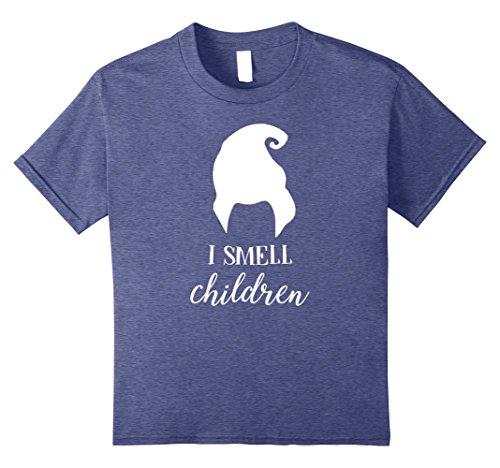Sanderson Sister Costumes (Kids I Smell Children Funny Halloween T-Shirt 10 Heather Blue)