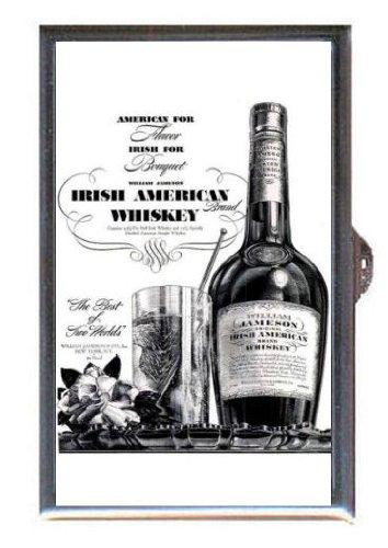 WILLIAM JAMESON IRISH WHISKEY VINTAGE 1937 Guitar Pick or Pill Box USA - Usa 1937
