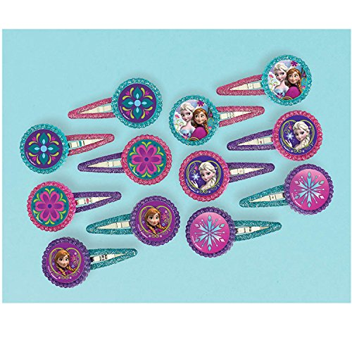 Disney Frozen 'glitter Barrettes' Hair Clip Party Accessories]()