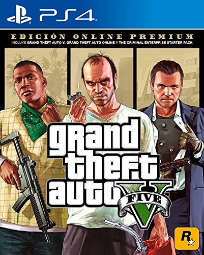 Grand Theft Auto V Premium Online Edition - PlayStation 4 Standard Edition (The Best Ps Vita Games 2019)