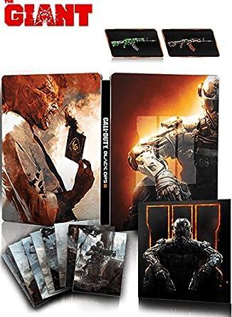 Activision Call of Duty: Black Ops III Hardened Edition, PS4 Básica + DLC PlayStation 4 Alemán vídeo - Juego (PS4, PlayStation 4, Acción, Modo multijugador, RP (Clasificación pendiente), Soporte físico): Amazon.es: Videojuegos