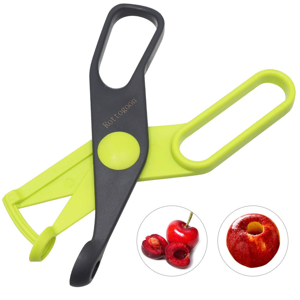 Rottogoon Cherry Pitter, Cherry and Olive Corer, Seed Remover Gadgets Stoner Kitchen Accessories by Rottogoon