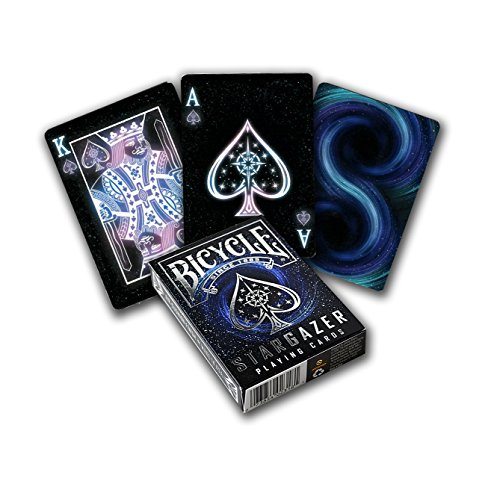 English Playing Card - Bicycle Stargazer Poker Size Standard Index Playing Cards