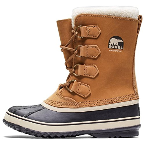 SOREL - Women's 1964 Pac 2 Shell Boot, Size: 8 B(M) US, Color: Buff/Black ()