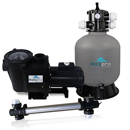 MaxPro Pumps MPMPP6000 Maximus Pond Filtration Package, 6000 gal
