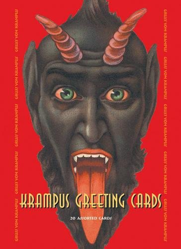Krampus Greeting Cards Set One: 20 Assorted Cards in Deluxe Tin (The Best Christmas Greetings)