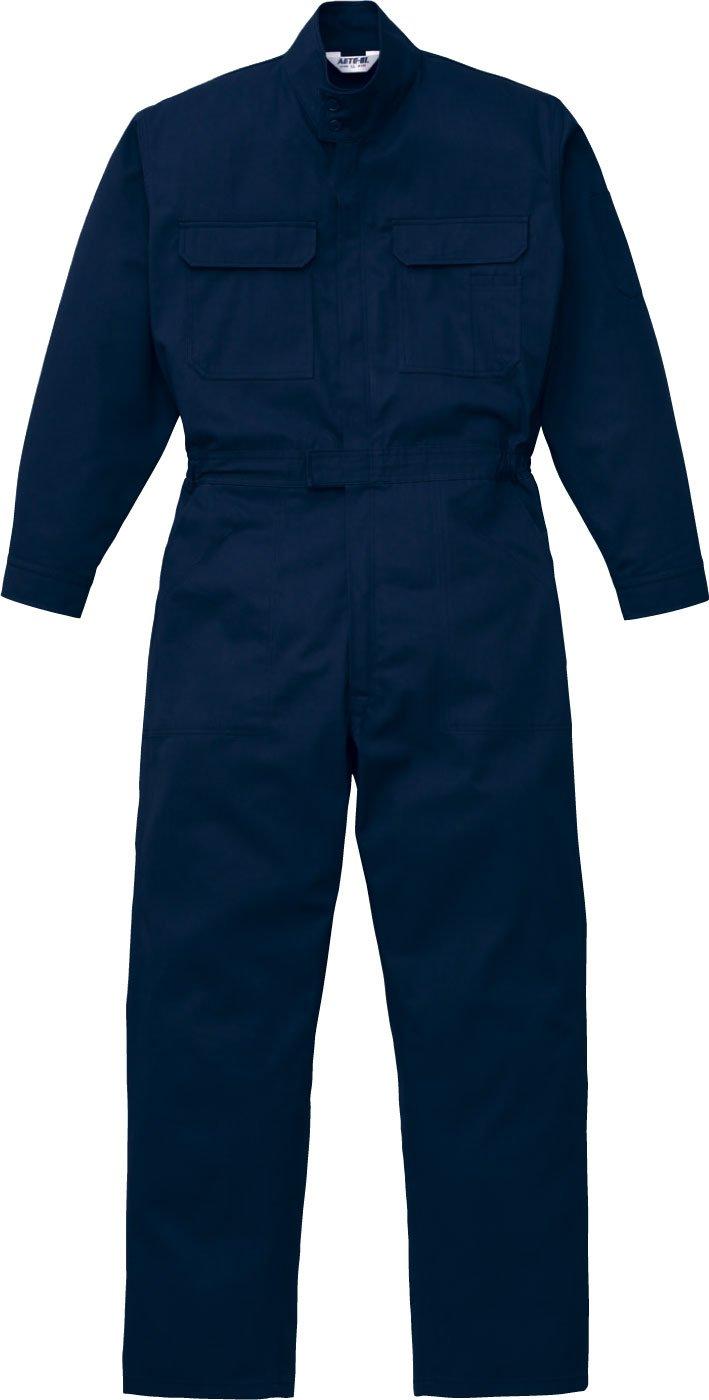 (クラボウ) KURABO長袖つなぎ 防災ブレバノプラス つなぎ ab-5101 B01MTTZ0ZX 3L|ネイビーブルー ネイビーブルー 3L