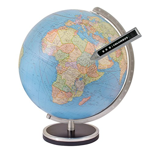 Columbus Pathfinder 13 Inch Interactive World Globe by Columbus