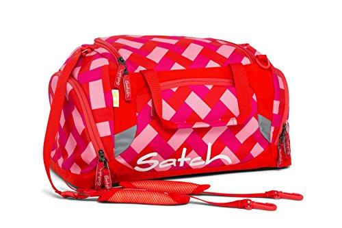 Satch Pack by Ergobag Chaka Cherry 4-tlg. Set Schulrucksack + Sporttasche + Schlamperbox inkl. Geodreieck + Geldbeutel j3Y9JK