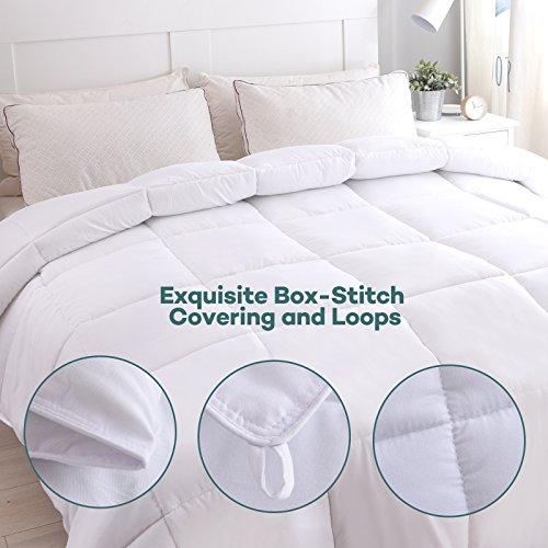 Queen Comforter Duvet Insert Quilted White Comforter Set