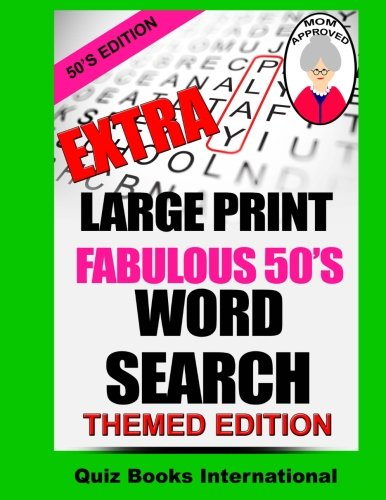 Extra Large Print Search Fabulous product image