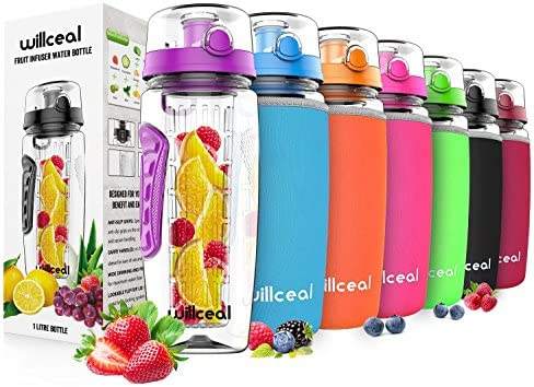 Willceal Fruit Infuser Bottle Durable product image