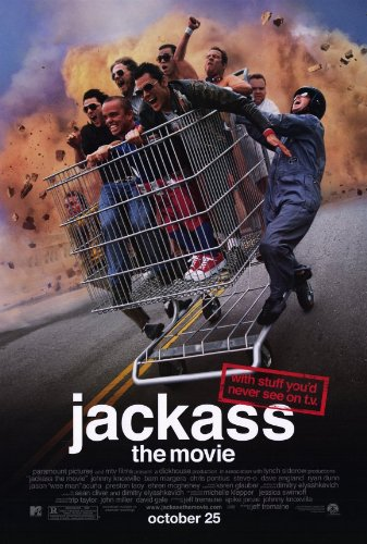 Jackass: The Movie Poster Movie 11x17 Johnny Knoxville Bam Margera Steve-O Chris Pontius MasterPoster Print, 11x17 (Knoxville Jackass)