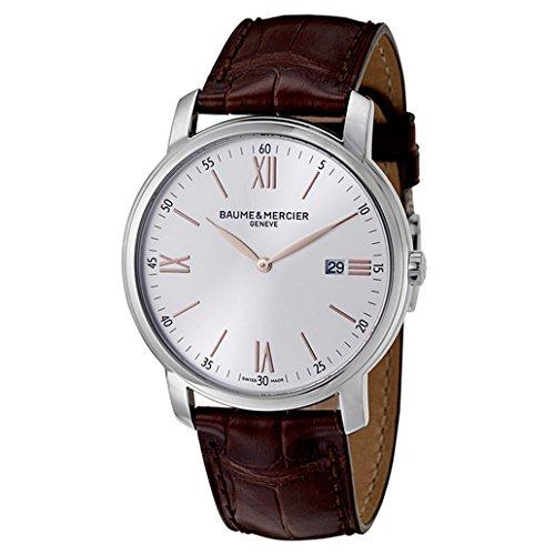 Baume & Mercier Men's BMMOA10144 Classima Analog Display Quartz Brown Watch
