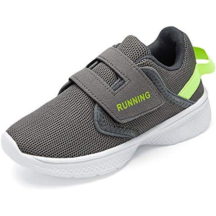 SIKELO Kid Boys Shoes Easy/Walking Casual Lightweight Sneakers (Toddler/Little/Big Kid)