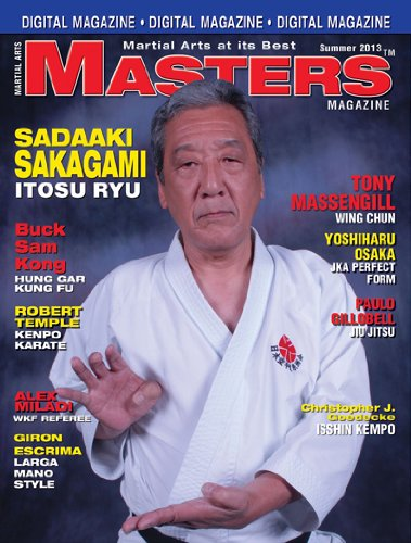 2013 Summer Issue of Martial Arts Masters Magazine Dvd/cd Set