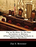 War As We Knew It, Jan S. Breemer, 1249353742