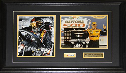 Midway Memorabilia Matt Kenseth NASCAR Auto Motorsport Racing Driver 2 Photo Racer Collector Frame
