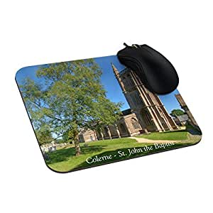 Urdesigner Customized Rectangle Non-Slip Rubber Mousepad Britain Wiltshire England St John Gaming Mouse Pad 9X7 Inch