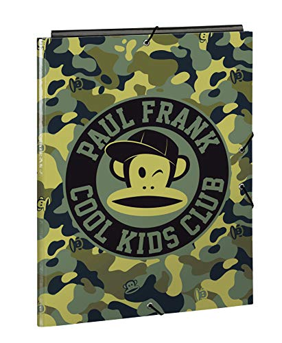 Paul Frank Camo Official Folio Folder with 3 Flaps 260 x 365 mm