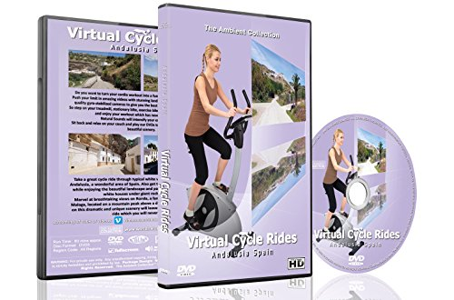 Virtual Cycle Rides DVD - Andalusia - for Indoor Cycling, Treadmill and Running Workouts