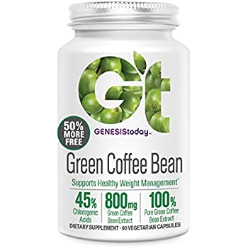 Genesis Today, Green Coffee Bean, 90 Count