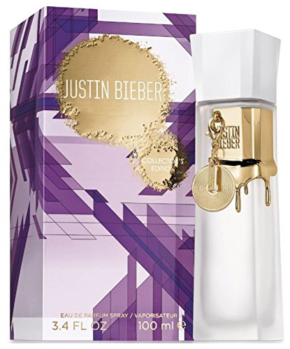 Justin Bieber Collector's Edition Eau de Parfum Spray, 3.4 Ounce