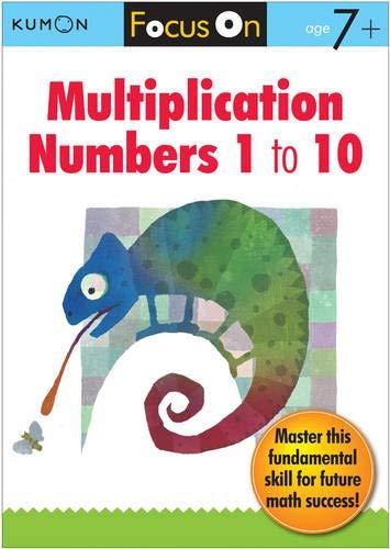 (Kumon Focus On Multiplication: Numbers 1-10 )