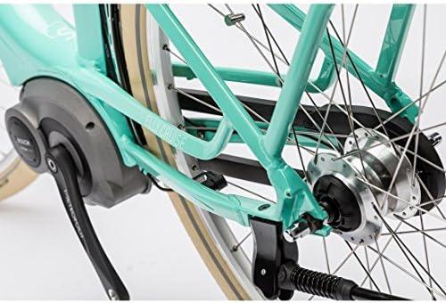 Bicicleta eléctrica CUBE Elly Cruise Hybrid, 400 mint n white 2016-H 46 cm.: Amazon.es: Deportes y aire libre