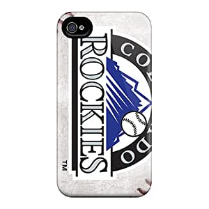 Iphone 6plus Wlr8012UKFP Allow Personal Design Beautiful Colorado Rockies Skin Bumper Cell-phone Hard Covers -LauraAdamicska
