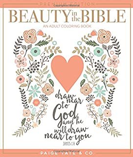 Amazon Com Beauty In The Bible Adult Coloring Book Volume 2