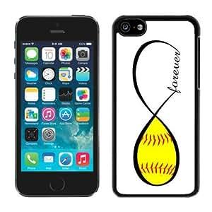Softball Forever Softball Infinity Forever Iphone 5c Case Black Cover