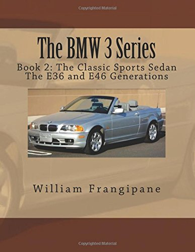 Download The BMW 3 Series Book 2: The Classic Sports Sedan.: The E36 and E46 Generations. (Volume 2) pdf