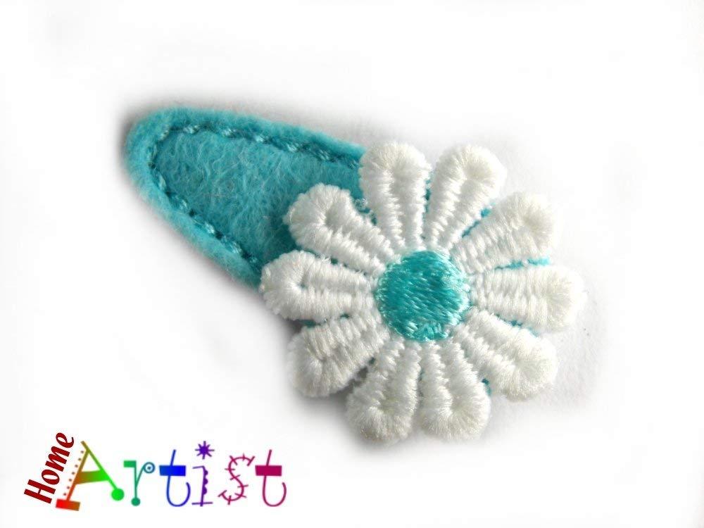 Spange Blume Haarspange