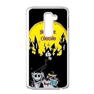 Hipster The Nightmare Before Christmas Custom Cover Case for LG G2 (Fit for AT&T)