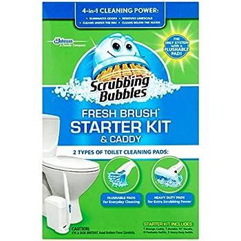 Scrubbing Bubbles Fresh Brush Starter Kit and Caddy