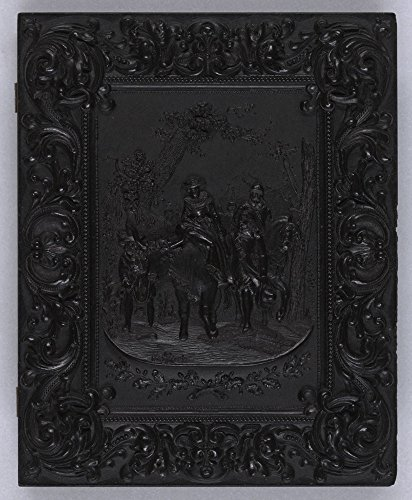 Historic Photos Union case for daguerreotype, ambrotype, or tintype depicting a wedding procession