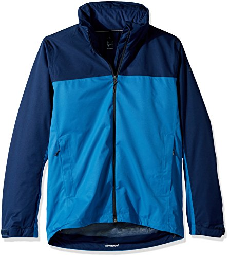 adidas outdoor Wandertag Jacket, Col. Navy/Core Blue, X-Large (Adidas Climaproof Puremotion Gore Tex Pac Lite Jacket)
