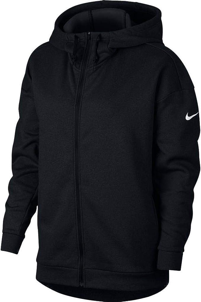 Shop Nike Womens Therma Hoodie Logo Fitness Free Shipping