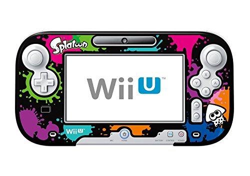 HORI Splatoon Protector Case for Nintendo Wii U GamePad Black WIU-085U