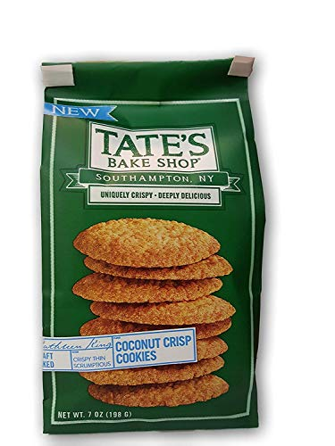 - TATES BAKE SHOP Coconut Crisp Cookies, 7 OZ (3)