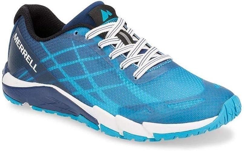 Merrell Damen Bare Access Flex 2 E-Mesh Outdoorschuhe Laufschuhe Sneaker Blau