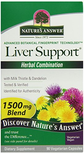 Natures Answer Liver - Nature's Answer Liver Support, 90-Count