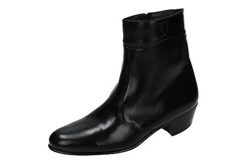 MOYA 50 BOTÍN TACÓN CUBANO HOMBRE BOTAS-BOTINES: Amazon.es: Zapatos y complementos